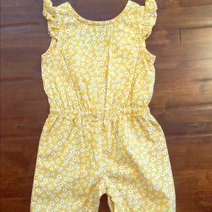Carter's Baby Girl Pants/Romper 3 Months•EUC